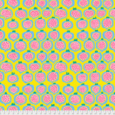 Brandon Mably PWBM067 Pomegranate Yellow Quilting Cotton Fabric By The Yard