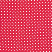 Tanya Whelan TW43 Delilah Dots Red Cotton Fabric By The Yard