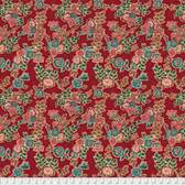 Free Spirit Boston Commons PWFS035 Isabella Red Cotton Fabric By The Yard