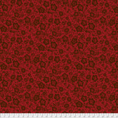 Free Spirit Boston Commons PWFS037 Mayflower Red Cotton Fabric By The Yard
