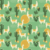 Joel Dewberry Florabelle PWJD146 Lingering Llamas Taos Cotton Fabric By Yd