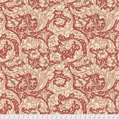 Morris & Co. Kelmscott PWWM003 Bachelors Button Red Cotton Fabric By Yd