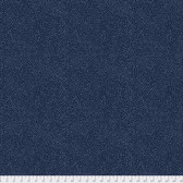 Morris & Co. Kelmscott PWWM008 Seaweed Dot Navy Cotton Fabric By Yd