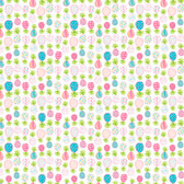 Dena Designs Haute Zahara PWDF273 Pineapple Multi Cotton Fabric By Yard