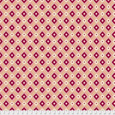 Denyse Schmidt PWDS148 Ludlow Diamond Medallion Dogwood Cotton Fabric By Yd