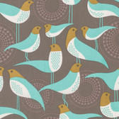Joel Dewberry PWJD135 Modernist Perch Smoke Cotton Quilting Fabric By Yard