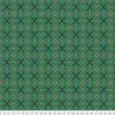 Joel Dewberry Avalon PWJD158 Squared Jade Cotton Fabric By Yd