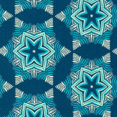 Heather Bailey Hello Love PWHB0782 Guru Midnight Cotton Fabric By Yard