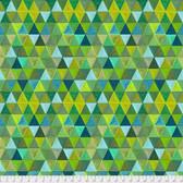 Odile Bailloeul PWOB004 Broderie Boheme Labyrinth Spring Fabric By Yd