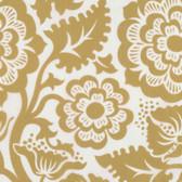 Joel Dewberry VOJD012 Modernist Blockprint Blossom Gold VOILE Fabric By Yard