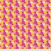 Amy Reber PWAR012 Jitterbug Etta Redbud Cotton Fabric By Yd