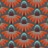 Anna Maria Horner Floral Retrospective PWAH075 Echinacea Berry Fabric By Yd