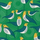 Joel Dewberry PWJD135 Modernist Perch Emerald Cotton Quilting Fabric By Yard