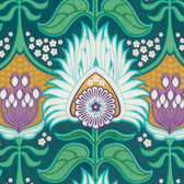Joel Dewberry PWJD136 Modernist Aurora Peacock Cotton Quilting Fabric By Yard
