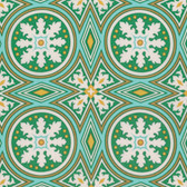 Joel Dewberry PWJD144 Modernist Tolson Emerald Cotton Fabric By Yard