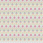 Dena Designs Bohemia PWDF275 Talavera Lotus Cotton Fabric By Yard
