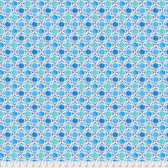 Dena Designs Bohemia PWDF276 Bahia Indigo Cotton Fabric By Yard