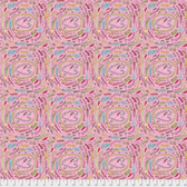 Laura Heine The Dress PWLH003 Fern Pink Cotton Fabric By Yd