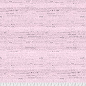 Laura Heine The Dress PWLH004 Words To Live By Pink Cotton Fabric By Yd