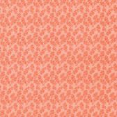 Nel Whatmore PWNW087 Ghost Rohan Orange Cotton Fabric By Yard