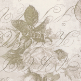 "Tim Holtz QBTH002 Rose Parcel Taupe 108"" Wide Quilt Backing Fabric By Yd"