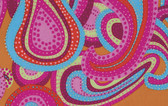Brandon Mably PWBM022 Dancing Paisley Watermelon Cotton Fabric By The Yard