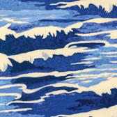 Tokyo Milk Neptune & The Mermaid PWTM010 Oceanus Navy Fabric By Yd
