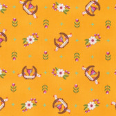 Tula Pink PWTP089 Slow & Steady Winner's Circle Orange Crush Fabric By Yard