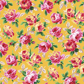 Snow Leopard English Garden PWSL057 Rose Bower Spring Cotton Fabric By Yd