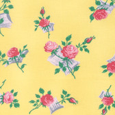Verna Mosquera Love & Friendship PWVM170 Love Notes Butter Fabric By Yd