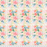 Natalie Malan Crisp Petals PWNM001 Brushed Bouquet Ballet Slipper Fabric By Yd