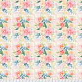 Natalie Malan Crisp Petals PWNM001 Brushed Bouquet Ballet Slipper Fabric By Yd