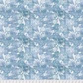 Natalie Malan Crisp Petals PWNM003 Brisk Delphinium Fabric By Yd