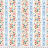 Natalie Malan Crisp Petals PWNM008 Garland Peony Cotton Fabric By Yd