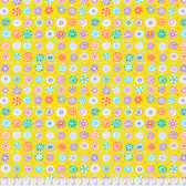 Kaffe Fassett PWGP166 Whirligig Yellow Cotton Quilting Fabric By Yard