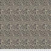 Morris & Co. Merton PWWM011 Willow Boughs Black Cotton Fabric By Yd