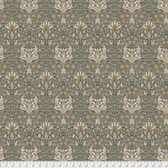 Morris & Co. Merton PWWM010 Snakehead Taupe Cotton Fabric By Yd