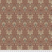 Morris & Co. Merton PWWM010 Snakehead Sage Cotton Fabric By Yd