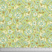 Tula Pink PWTP079 Chipper Wild Vines Mint Cotton Fabric By The Yard