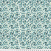 Shell Rummel Bloom Beautiful PWSR021 In Full Bloom Sage Cotton Fabric By Yd