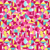 Studio E 3945-28 Sunshine Kisses Geo Pink Cotton Quilting Fabric By Yard