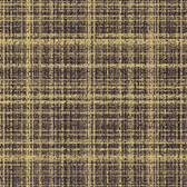 Studio E L3344-94 Refinery Metallic Gold Charcoal Plaid Quilting Fabric By Yard