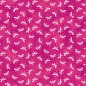 Blank Quilting B9192-22 Bloom Bouquet Mini Tonal Dragonfly Pink Fabric By Yard