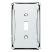 Brainerd W35390-PC Upton Polished Chrome Single Switch Cover Plate