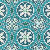 Joel Dewberry VOJD013 Modernist Tolson Peacock Cotton VOILE Fabric By Yard