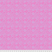 Brandon Mably PWBM065 Good Vibrations Pink Quilting Cotton Fabric By The Yard