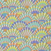 Kaffe Fassett PWGP143 Paper Fans Vintage Cotton Quilting Fabric By The Yard