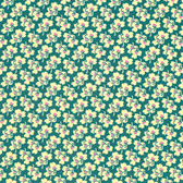 Amy Butler PWAB163 Eternal Sunshine Pansies Ivory Cotton Fabric By Yard