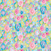 Dena Designs Haute Zahara PWDF278 Flowers Spring Cotton Fabric By Yard