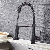 FBX Fernwood 82H07-ORB-S Kitchen Pull Down Spray Faucet Oil Rubbed Bronze